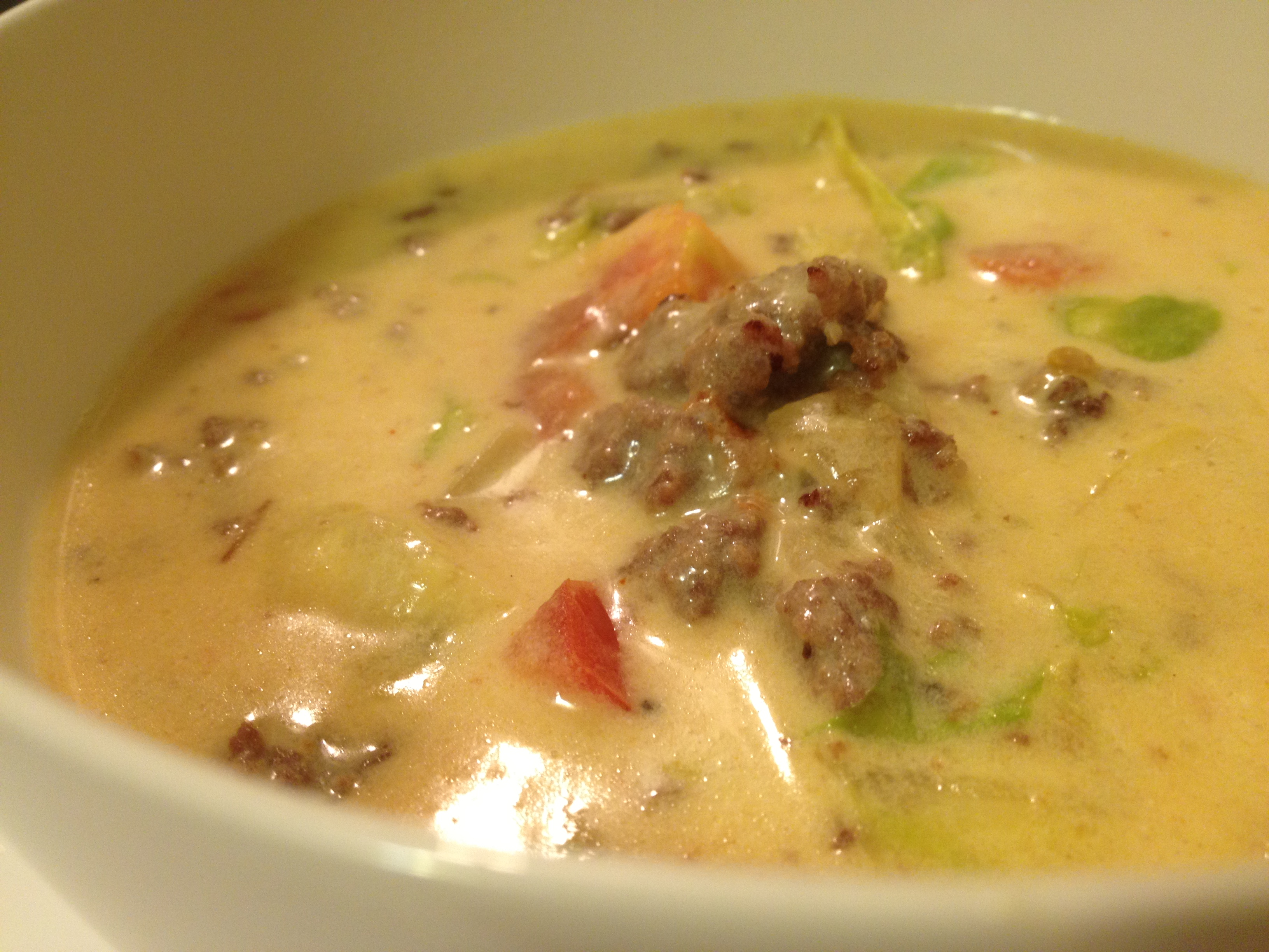 Cheeseburger Soup | the kitchen creative