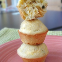 Mini Jalapeño Cornbread Muffins