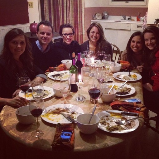 attendees for the November Supper Club
