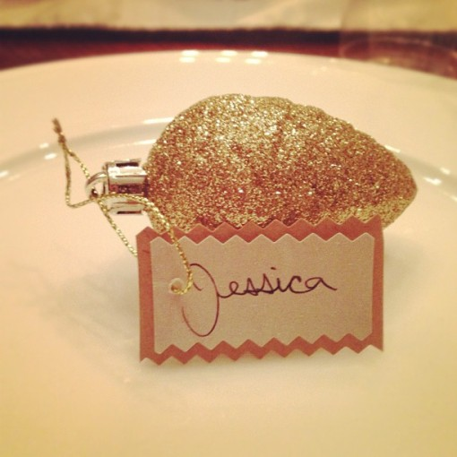 cute favors from our crafty hostess