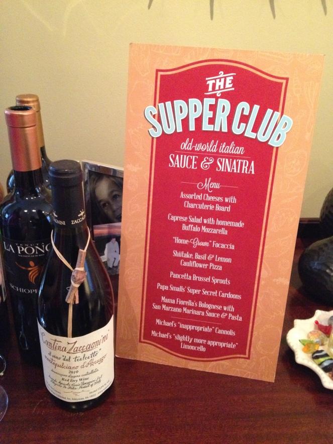 The menu: Sauce & Sinatra